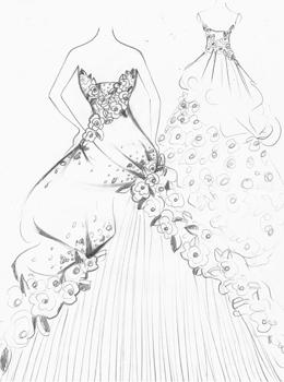 Dịch vụ thiết kế áo cưới