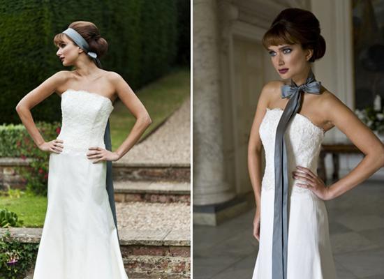 Xu hướng váy cưới cut laser tinh tế đến từng đường