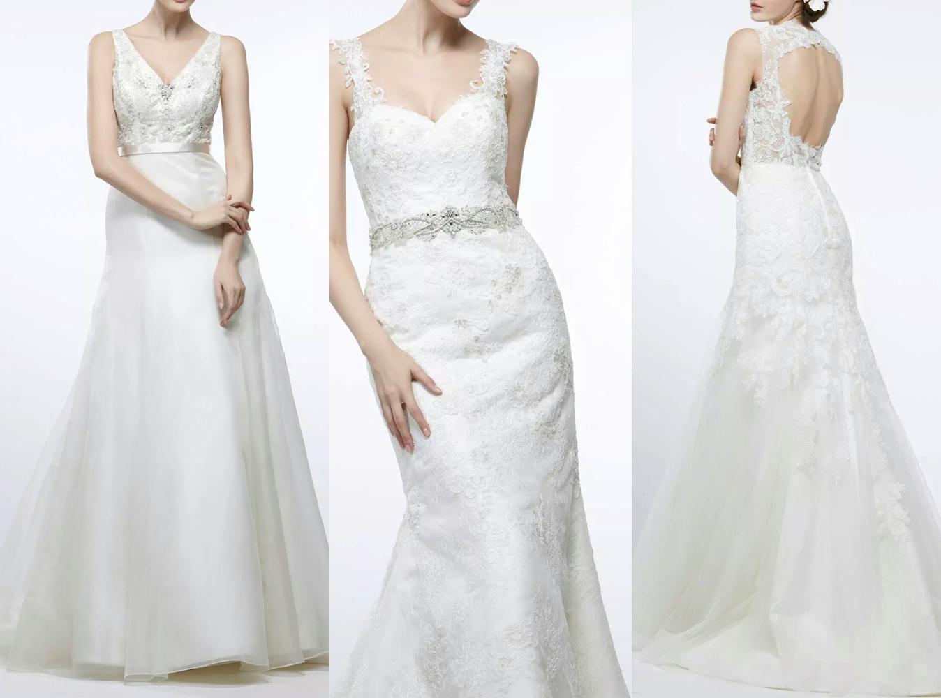 Váy cưới đẹp với chi phí thấp