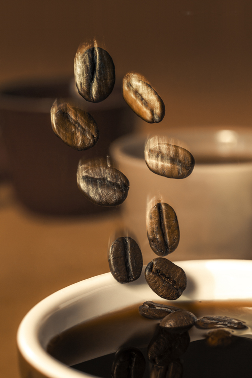 the flying coffee beans-3 -