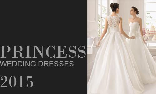 Áo cưới công chúa tuyệt đẹp 2015
