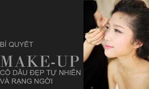 Bí Quyết Makeup Cô Dâu Đẹp Tự Nhiên