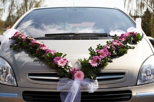 Mẹo trang trí xe hoa cho đám cưới