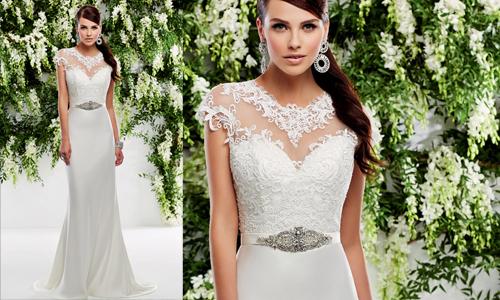 Váy cưới dáng chữ A yêu thích