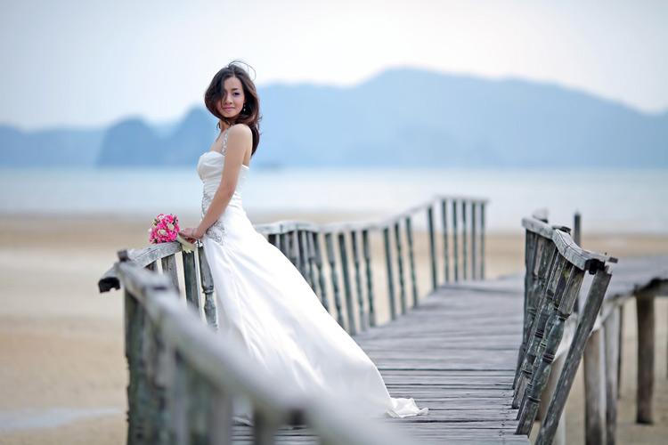 Chụp ảnh cưới ở Bến Vân Đồn, Quảng Ninh