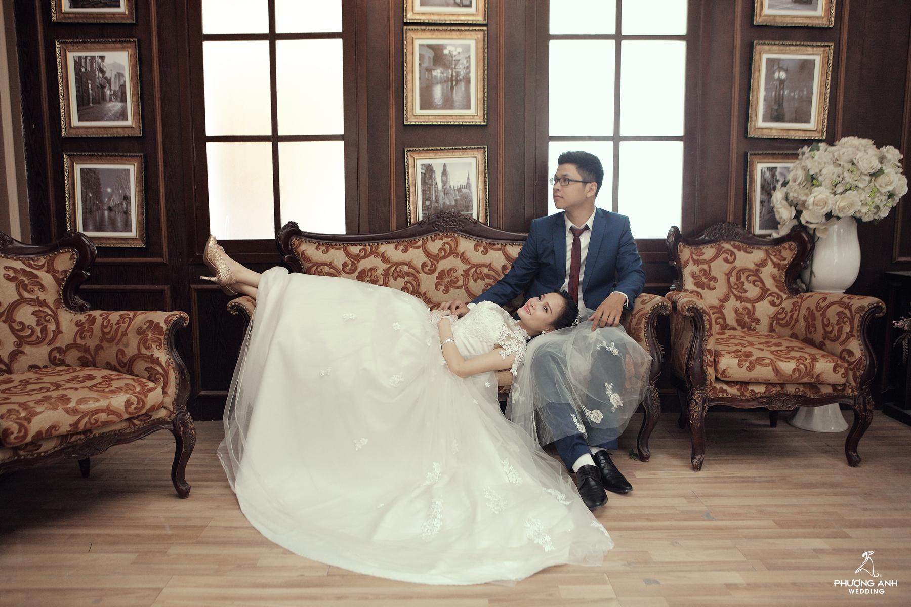 Những lưu ý khi chụp ảnh cưới phim trường